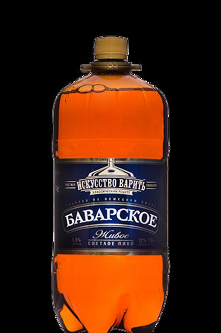Трехсосенское  Иск. вар. Баварское 1.8л пэт (1х4) пиво оптом
