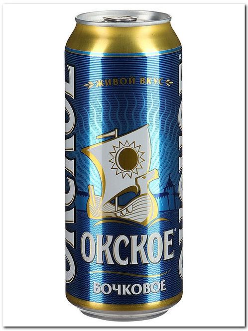 Окское бочковое 0,5л ж/б (1х24) пиво оптом