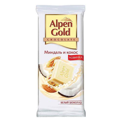 Альпен Гольд белый с кокосом 1шт. оптом