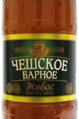 Чешское Барное живое  1.5л пэт (1х4) пиво оптом