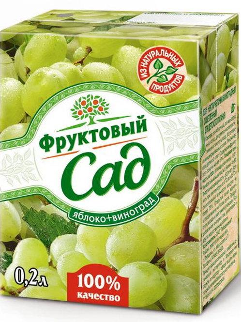 Фруктовый сад Виноград  0,2л (1х27) оптом