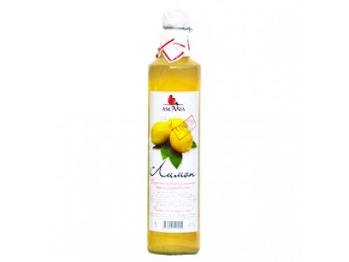 Лимонад Аскания Лимон 0,5л ст (1х12) оптом