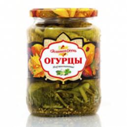 """Огурцы """"Золотая Осень"""" марин. 1,8 кг 1шт. оптом"""