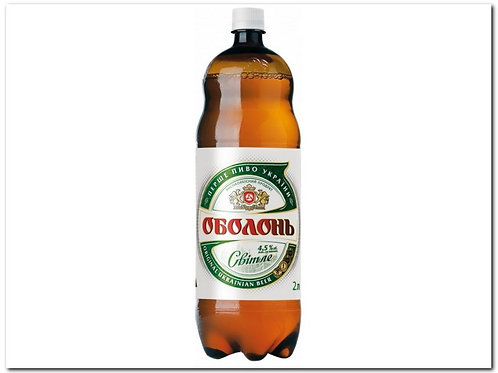 Оболонь Светлое 2л пэт (1х6) пиво оптом