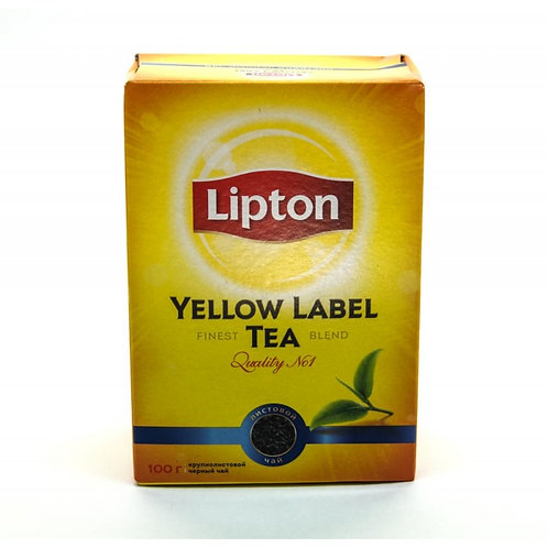 Чай Липтон 100гр 1шт. оптом