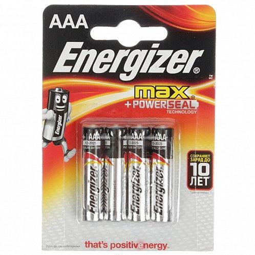 Батарейка Energizer (Маленький) E92/AAA-(4шт) оптом