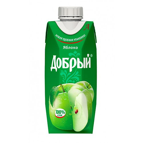 Добрый Яблоко  0.33л (1х24) оптом