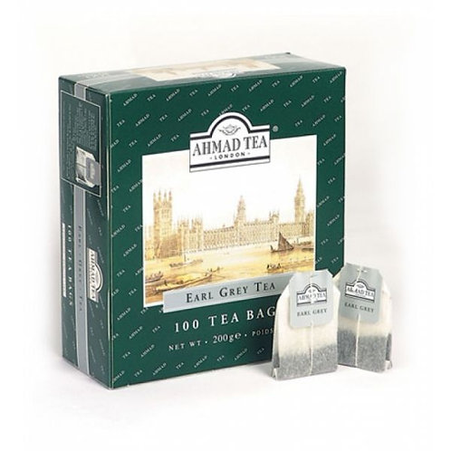 Чай Ахмад   Бергамот (100 пакет) 1шт. оптом