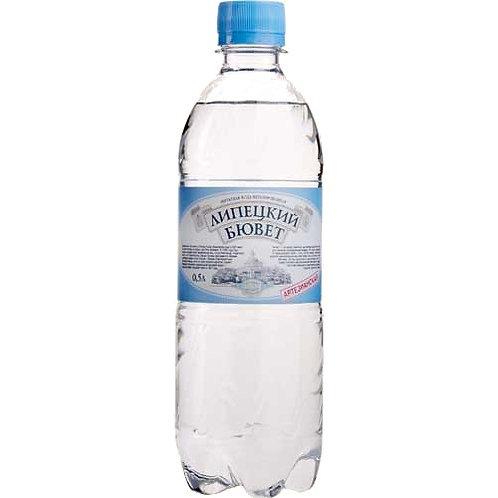 Липецкий Бювет Б/Г 0.5л пэт (1х12) вода оптом