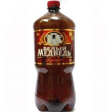 Белый Медведь креп. 1.5л пэт  (1х6) пиво оптом