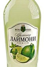 Лимонад Вкус Года Лаймони 0,6л ст (1х6) оптом
