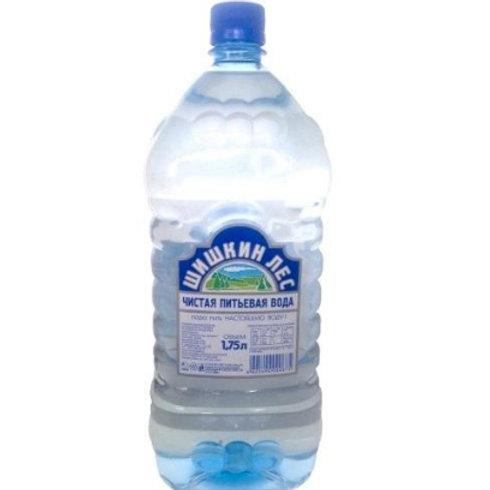 Шишкин лес 1.75л б/г пэт (1х6) вода оптом
