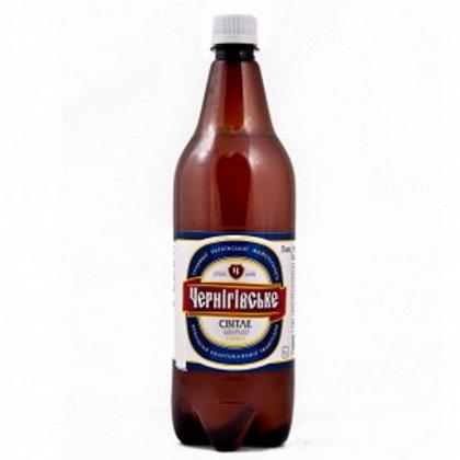 Черниговское светлое  1л  пэт(1х12) пиво оптом