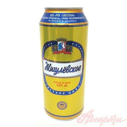 Жигулевское Рязанское  1л  Ж/Б (1х12) пиво оптом