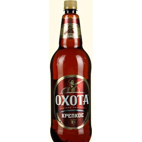 Охота крепкое 1л пэт (1х9) пиво оптом
