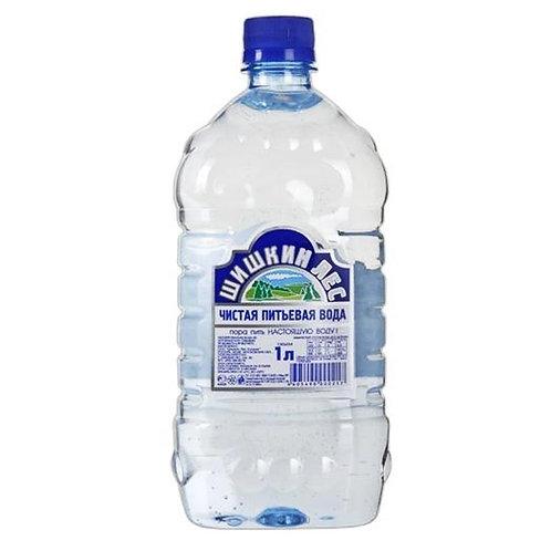 Шишкин лес 1л Б/Г пэт (1х12) вода оптом