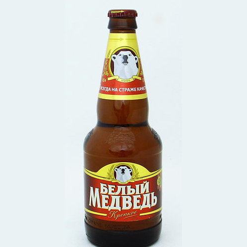 Белый Медведь креп. 0.5л ст (1х20) пиво оптом