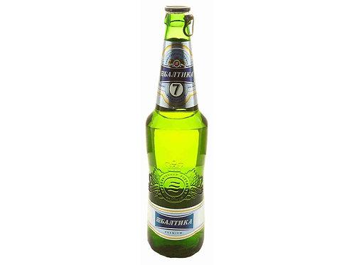 Балтика №7 ст 0.5л  (1х20) пиво оптом