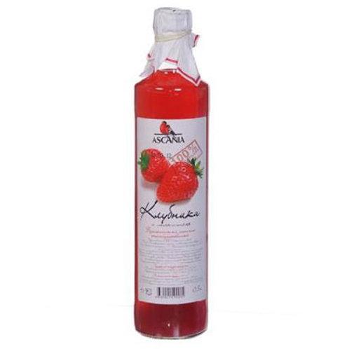 Лимонад Аскания Клубника 0,5л ст (1х12) оптом