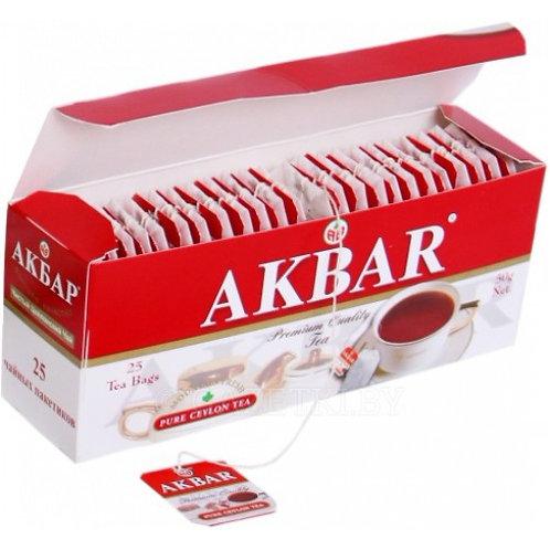 Чай Акбар  (25 пакет) 1шт. оптом