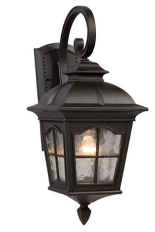 320386BK Outdoor Sconce 1 Light Large