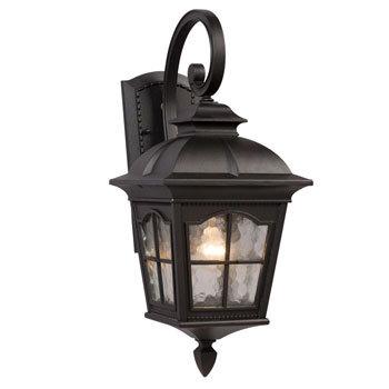 320386BK Outdoor Sconce 1 Light Large
