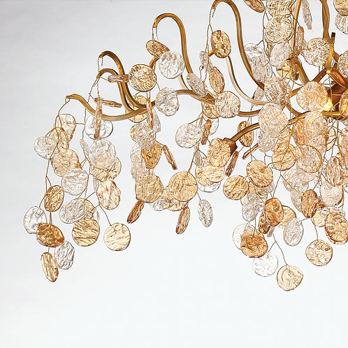 """Campobasso 45"""" Oval Chandelier"""