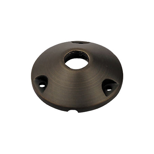 31961 Round Casting Mounting Base with Standard 1/2 IPS thread solid Brass