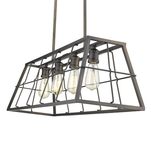 Charley 4 Light Linear Pendant
