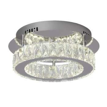 "Estella 14"" Crystal LED Semi-Flush"