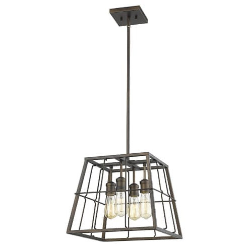 Charley 4 Light Pendant