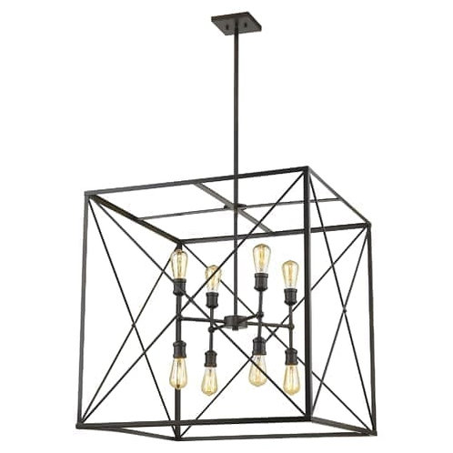 "Brooklyn 30"" 8 Light Chandelier"
