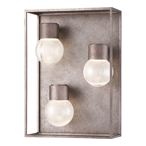 Gibson 3 Light LED Outdoor Sconce