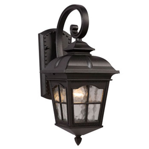 320286BK Outdoor Sconce 1 Light