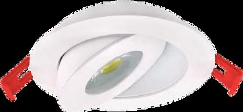 """4"""" Floating Gimbal Pot Light - 360 Degree - 90 Degree Tilt"""