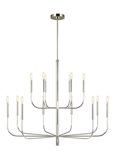 Brianna Large Two-Tier Chandelier