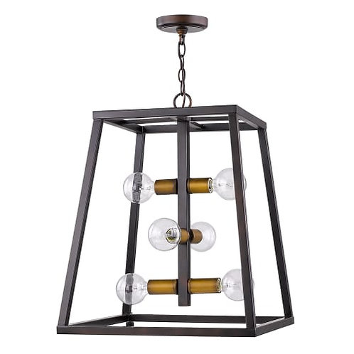 Tiberton 6 Light Pendant