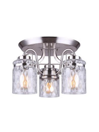 Arden 3 Light Semi-Flush
