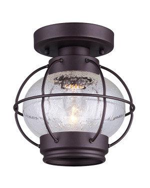 Potter 1 Light Flushmount