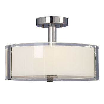 Nora 3 Light Semi-Flush