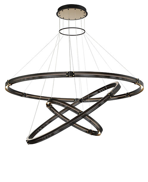 "Admiral 62"" Chandelier Three Tier"