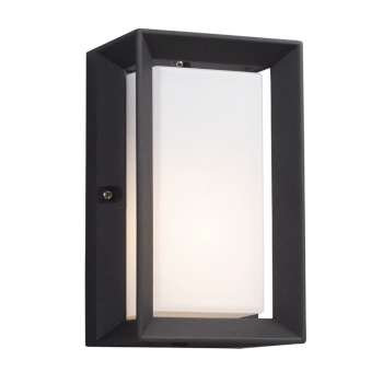 322970BK 1 Light Outdoor Wall Sconce