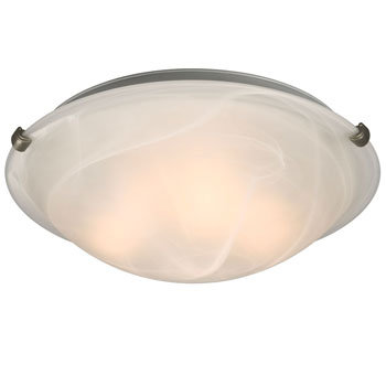 "Ofelia 16"" 3 Lamp Flushmount"
