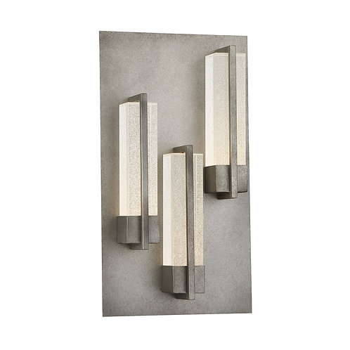 Pari 3 Light Outdoor LED Wall Sconce