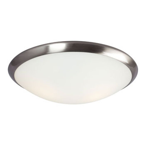 "15"" 2 Light Flushmount Single Ring"
