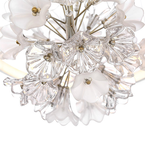 "Clayton 43"" Oval Chandelier"