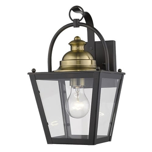Savannah 1 Light Outdoor Wall Sconce