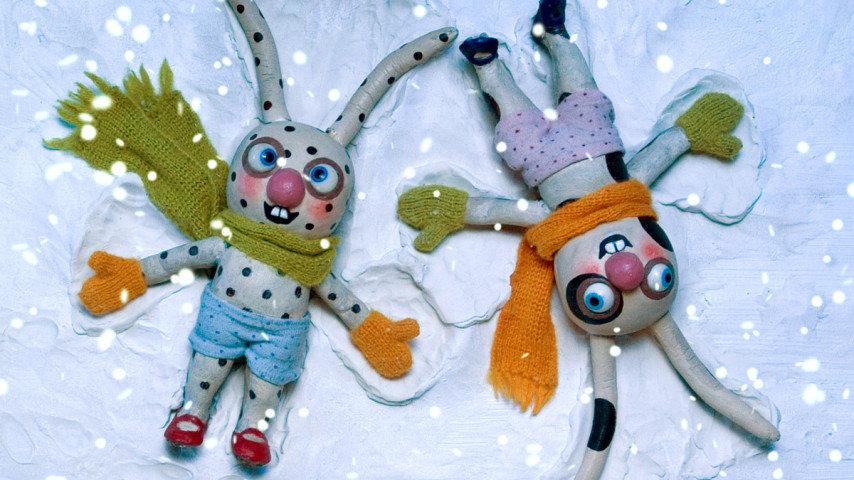 Prick och Fläck snöar in