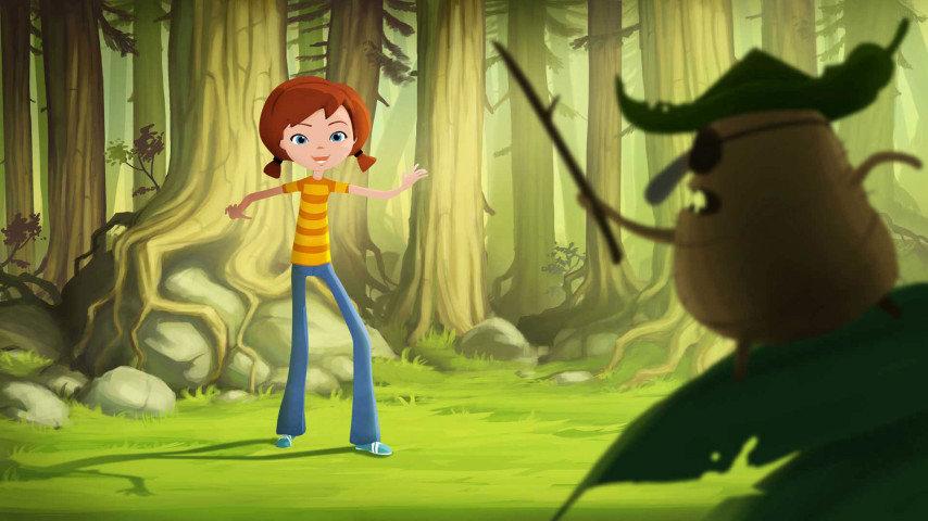 Lea och skogspiraterna