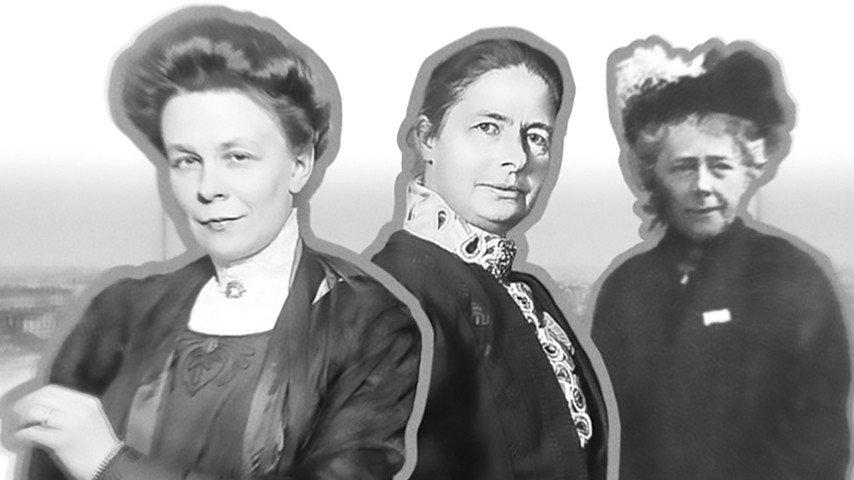 Kvinnorna på Fröken Frimans tid